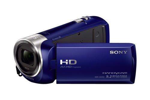 Kamera cyfrowa Sony HDR-CX240 (Czarny)