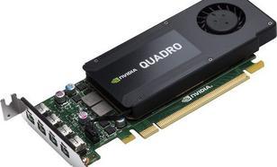 HP nVIDIA K1200 Quadro 4GB GDDR5 (128 bit) 4x Mini DisplayPort