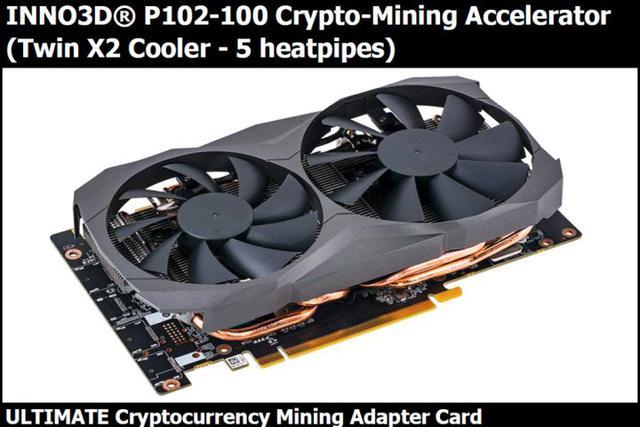 Inno3D P102-100 Crypto-Mining Accelerator