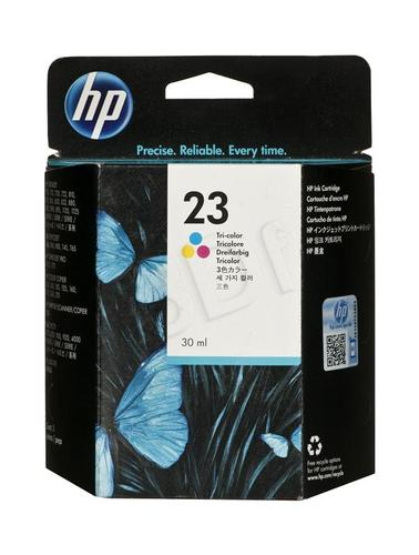 HP Tusz Kolor HP23=C1823D, 640 str., 30 ml