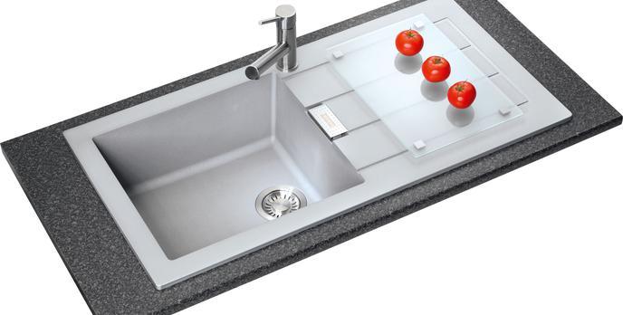 Nowy standard higieniczny w zlewozmywakach granitowych Franke