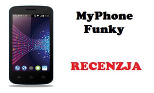 MyPhone Funky - Tani smartfon z najnowszym systemem KitKat