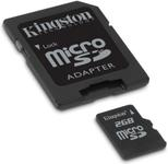 Kingston Micro SD Class 10 + adapter