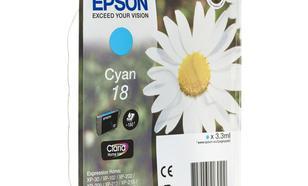 EPSON Tusz Niebieski T1802=C13T18024010, 180 str., 3.3 ml
