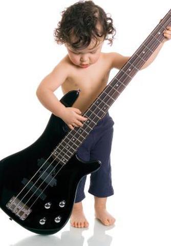 mały basista