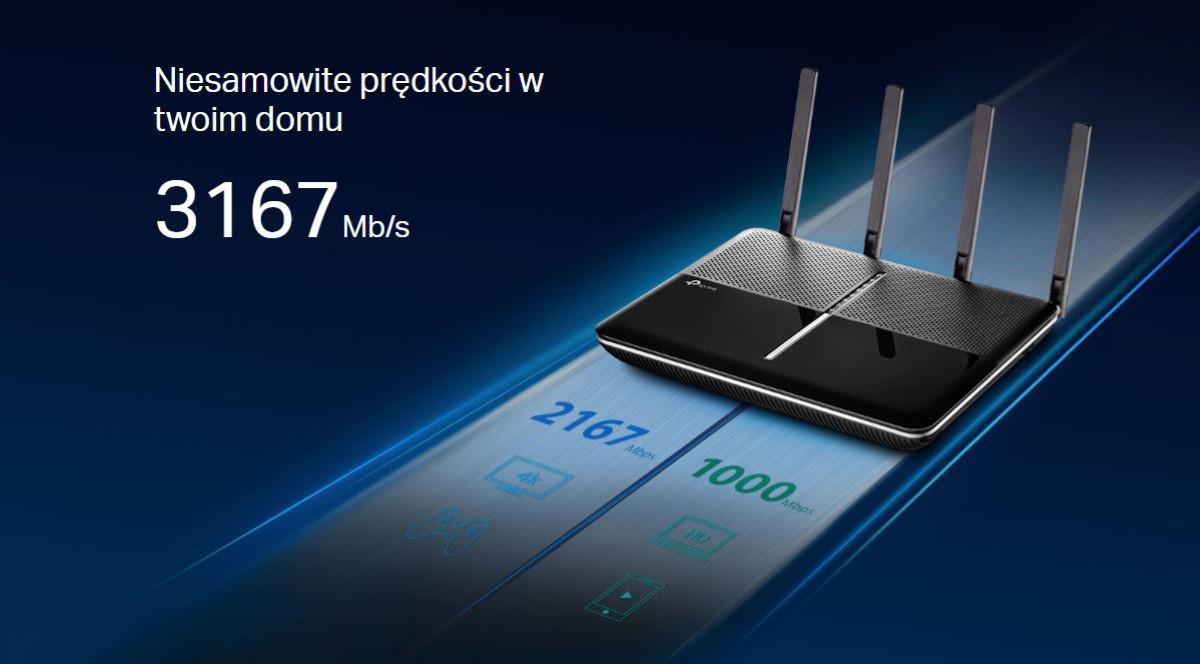 Prędkość routera TP-Link Archer C3150