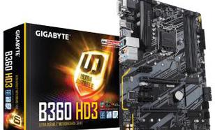 Gigabyte B360 HD3 (rev. 1.0)