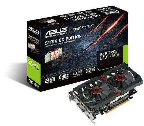 ASUS Strix GTX 750 Ti OC 2GB