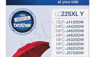 BROTHER Tusz Żółty LC225XLY=LC-225XLY, 1200 str.