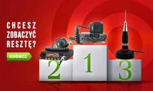 Czołowe CB Radia - TOP 10 Styczeń 2015