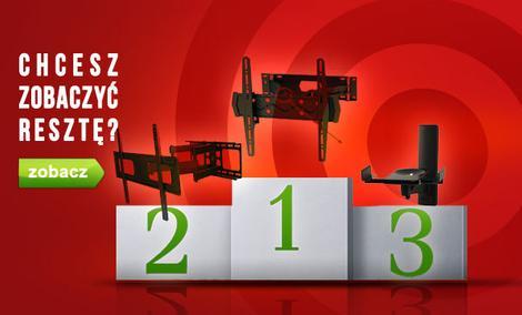 Czołowe Uchwyty TV - TOP 10 Lipiec 2015