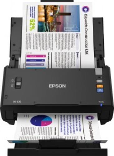 Epson Skaner WorkForce DS-520 A4/ADF50/60IPM@1passDuplex