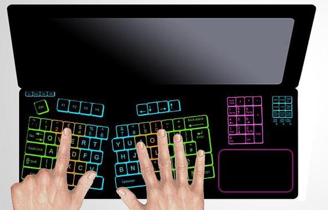 Keyless Lifebook: Uniwersalna klawiatura dotykowa kończy z klikaniem