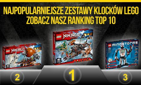 Najpopularniejsze Zestawy Klocków LEGO - Zobacz Nasz Ranking TOP 10!