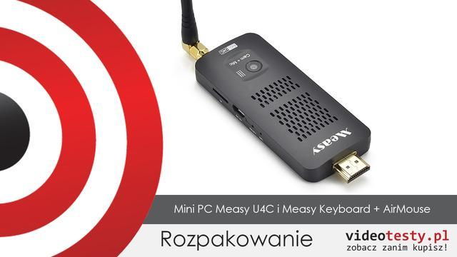 Rozpakowanie Measy U4C i Measy AirMouse + Keyboard