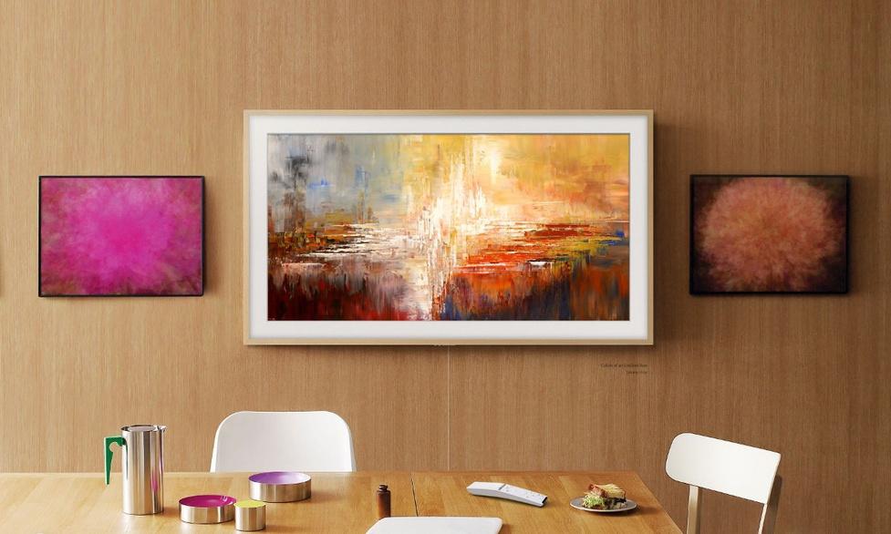 Telewizor Samsung The Frame na polskiej aukcji dzieł sztuki