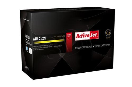 ActiveJet ATH-252N żółty toner do drukarki laserowej HP (zamiennik 504A CE252A) Supreme