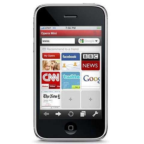 Opera dla iPhone'a