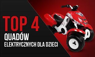 TOP 4 Quadów Elektrycznych Dla Dzieci – Pierwszy Pojazd Małych Kierowców
