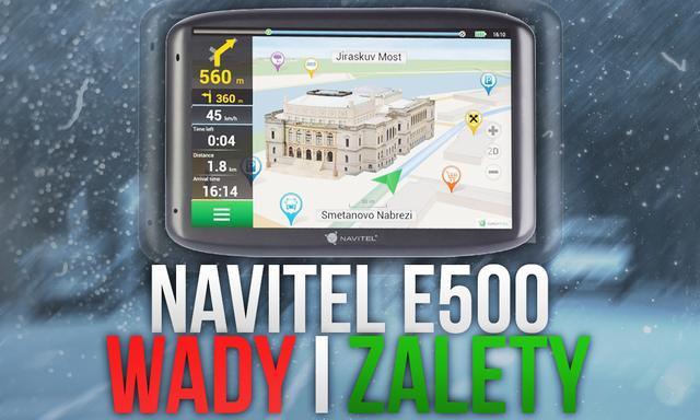 Navitel E500 - Wady i Zalety