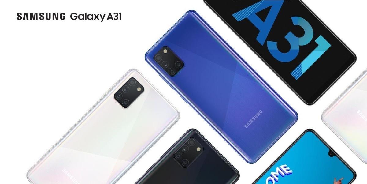 Grafika promocyjna Samsung Galaxy A31