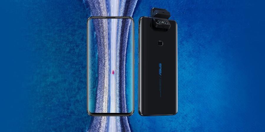 Asus Zenfone 6 nie posiada wcięcia z przodu ekranu