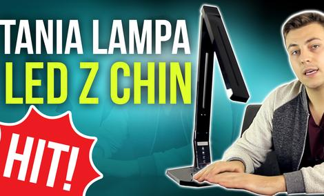 Tania Lampa LED z Chin - HIT!!!