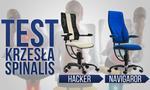 Test Krzeseł Zdrowotnych SpinaliS Hacker i Navigator