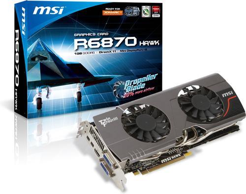 MSI Radeon 6870 Hawk