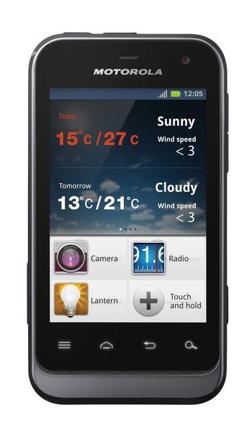 Motorola Mobility przedstawia znakomite połączenie stylu i super odporności - smartfon Motorola DEFY