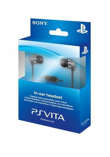 Sony PS VITA Zestaw słuchawkowy 9241713