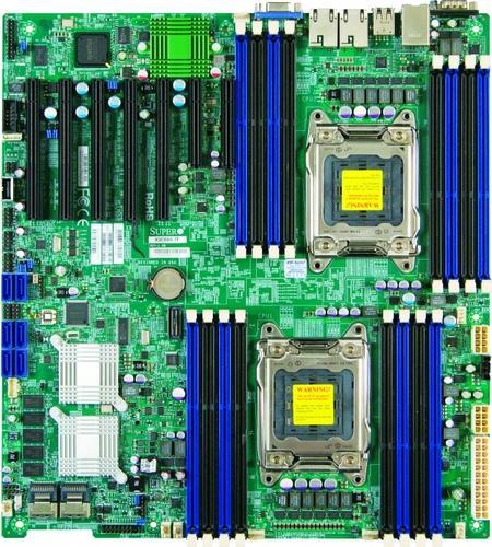 Supermicro Płyta serwerowa X9DRH-7F MBD-X9DRH-7F-O