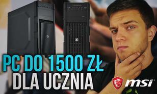 Zestaw Komputerowy Przeznaczony Dla Ucznia za 1500 zł
