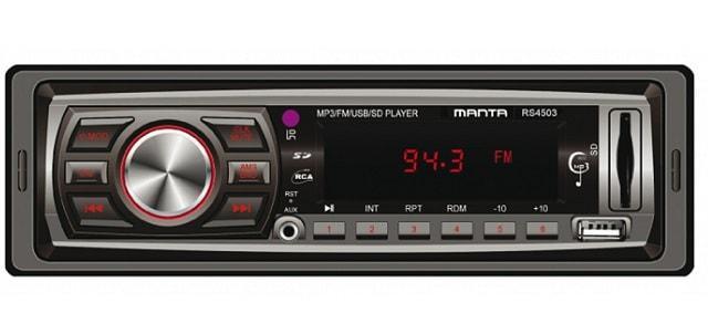 tanie radio samochodowe Manta