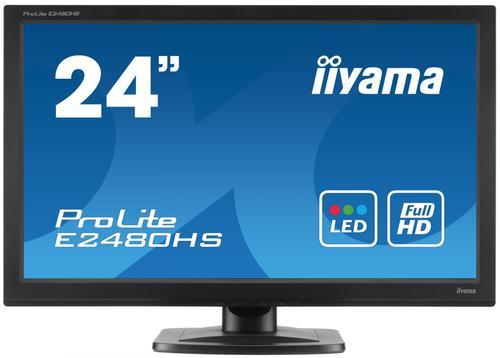 iiyama 23.6'' E2480HS D-sub/DVI/HDMI/głośniki