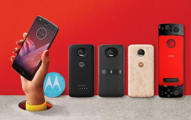 Telefony Motorola