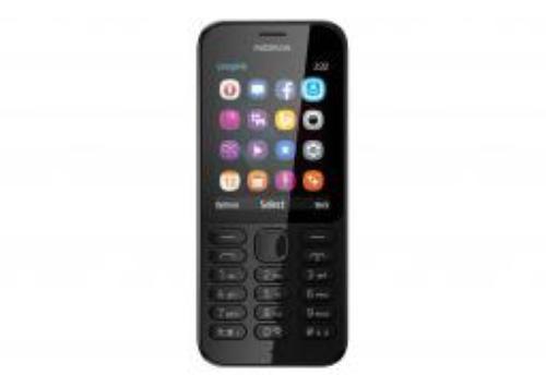 Nokia 222 Dual Sim Czarny (A00026075)