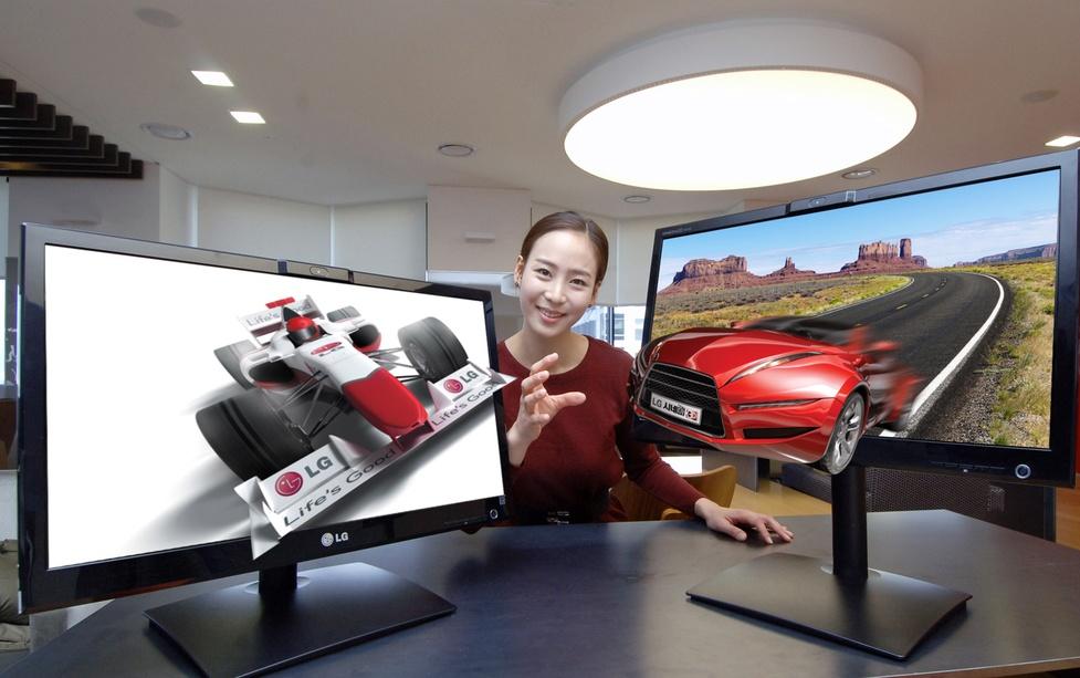 LG wprowadza monitory 3D bez okularów