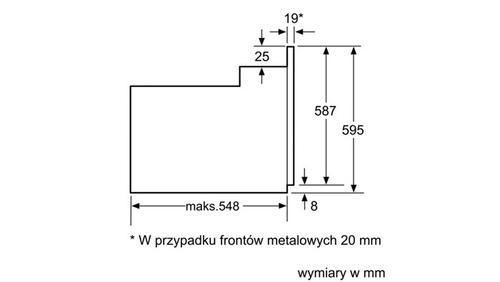 Siemens Piekarnik HB 33GB550