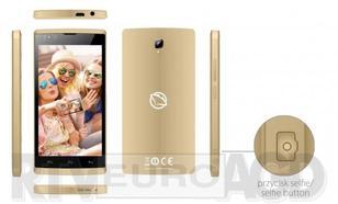 Manta Multimedia Easy Selfie Dual SIM Złoty (MSP94501)