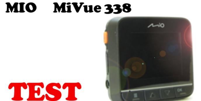 Mio MiVue 338 - Test Rejestratora Samochodowego [TEST]