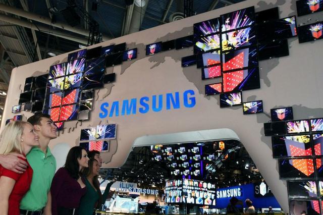 Stoisko Samsung na CES 2011