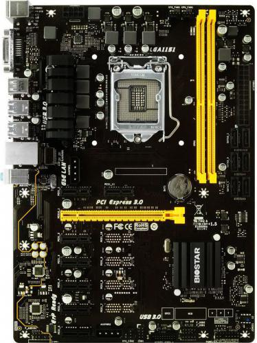 Biostar TB250-BTC+, B250, SATA3, DDR4, USB3.0, ATX