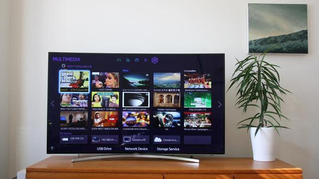 Samsung UE55H8000 - Zakrzywiony Ekran W Znakomitym Wydaniu