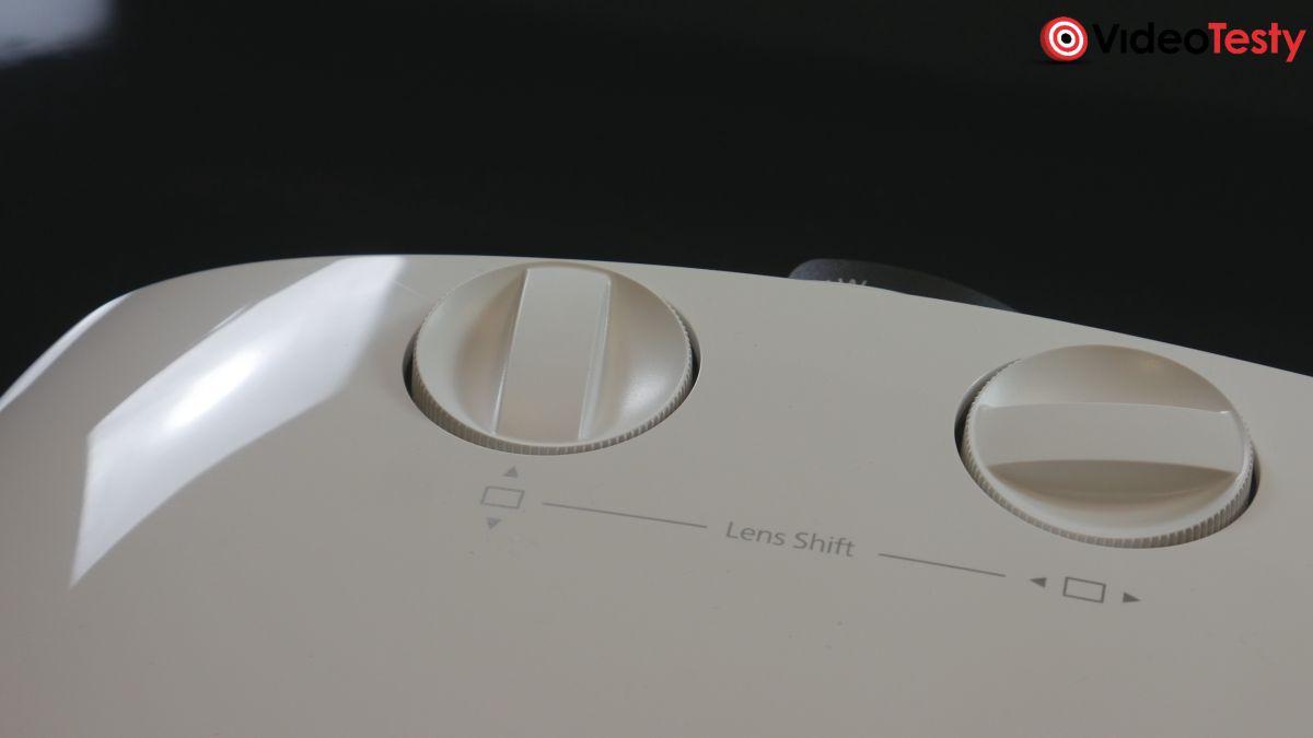 Epson EH-TW7000 pokrętła do regulacji