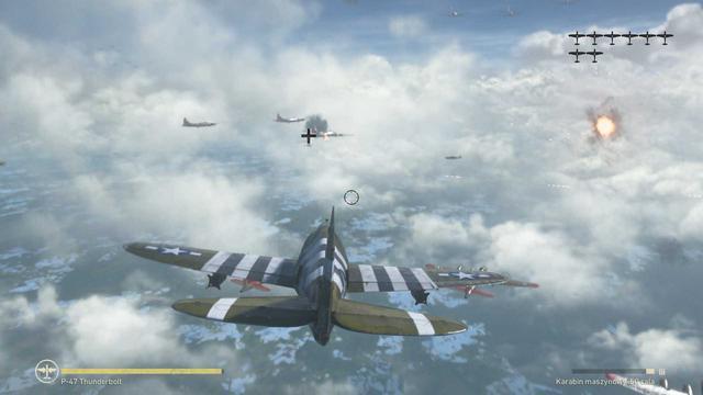 Call of Duty: WWII - Latanie myśliwcem