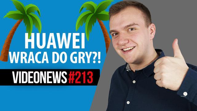 Huawei powraca do żywych, polskie kolonie na Marsie, AI vs kot - VideoNews #213