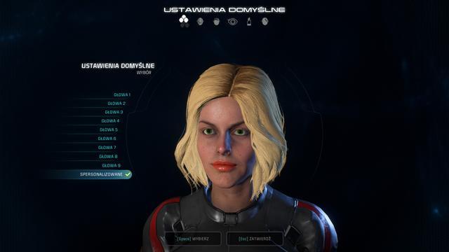 Mass Effect: Andromeda - Kreator Postaci