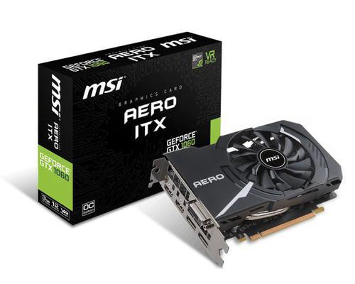 MSI GeForce GTX 1060 AERO ITX 3GB GDDR5 (192 Bit) DVI-D, 2xHDMI, 2xDP, BOX (GTX 1060 AERO ITX 3G OC)