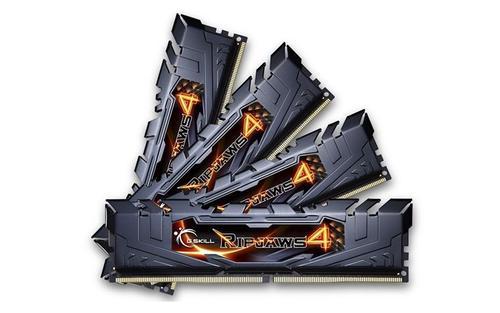 G.SKILL DDR4 32GB (4x8GB) Ripjaws4 2400MHz CL15 XMP2 Black